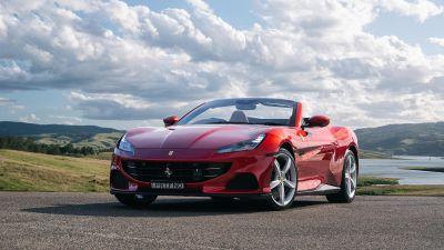 Ferrari Portofino M, 2021, Sports cars, 5K, 8K