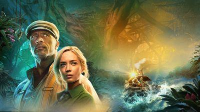 Jungle Cruise, Dwayne Johnson, Emily Blunt, 2021 Movies, Adventure
