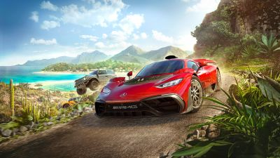 Forza Horizon 5, Mercedes-AMG Project One, 2021 Games, Racing games, PC Games, Xbox Series X and Series S, Xbox One, Hypercars
