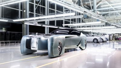 Rolls-Royce 103EX, Vision Next 100, Concept cars, Electric cars, 2021, 5K, 8K