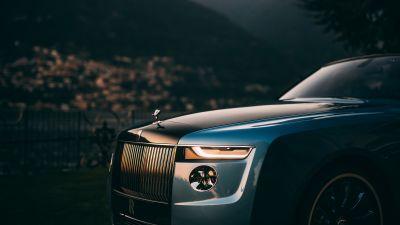 Rolls-Royce Boat Tail, Luxury cars, 2021, 5K, 8K