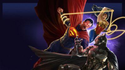 Injustice, Superman, Batman, Wonder Woman, DC Comics, Animation, 2021 Movies, DC Superheroes