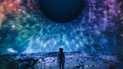 Astronaut, Voyager, Wanderer, Surreal, Planet, Cosmos, Universe