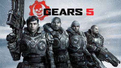 Gears 5, Kait Diaz, Marcus Fenix, Xbox One, Xbox Series X, PC Games, 5K