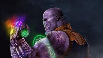 Thanos, Infinity Gauntlet, Infinity Stones, Avengers: Endgame
