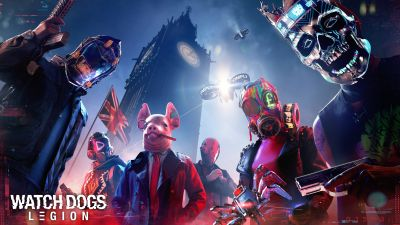 Watch Dogs: Legion, PC Games, PlayStation 5, PlayStation 4, Xbox Series X, Xbox One, Google Stadia, 2020 Games