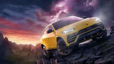 Lamborghini Urus, Forza Horizon 4, 5K