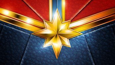 Captain Marvel, Suit, Marvel Superheroes, HD