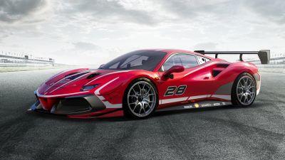 Ferrari 488 Challenge Evo, 2020, 5K