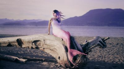 Mermaid, Dream, Girl