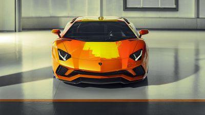 Lamborghini Aventador S, Skyler Grey, 5K, 8K