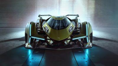 Lamborghini Lambo V12 Vision GT, Concept cars, Hypercar, 5K