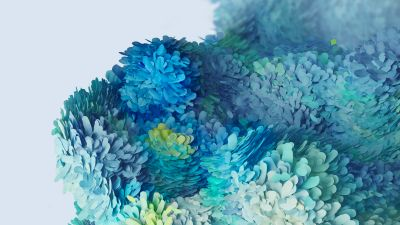 Samsung Galaxy S20 4k Wallpaper Stock Multicolor Ultra Abstract 814