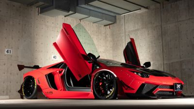 Lamborghini Aventador, LB Performance, Limited edition, 5K