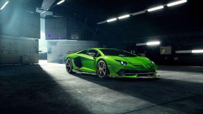 Lamborghini Aventador SVJ, Novitec, 5K, 8K