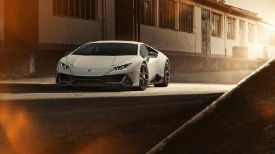 Lamborghini Huracan EVO, Novitec, 2020, 5K, 8K