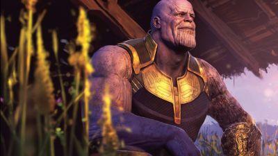 Thanos, Avengers: Infinity War, 8K