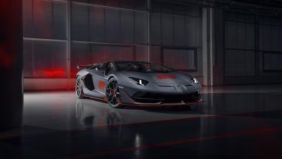 Lamborghini Aventador SVJ, 5K, 8K, 2020