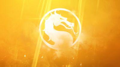 Mortal Kombat 11, 2019, Yellow background, 8K