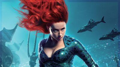Mera, Amber Heard, Aquaman, DC Comics