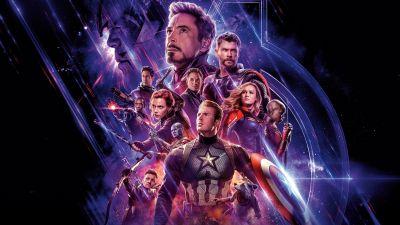 Avengers: Endgame, Marvel Superheroes, Marvel Comics, 5K