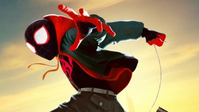 Miles Morales, Spider-Man: Into the Spider-Verse, Marvel Comics, 5K