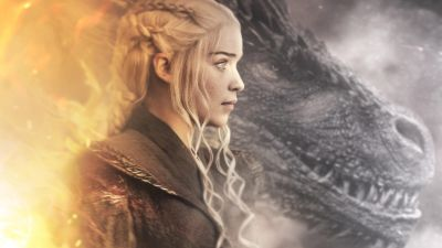 Daenerys Targaryen, Emilia Clarke, Dragon