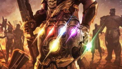 Infinity Gauntlet, Thanos, Avengers: Endgame, Infinity Stones