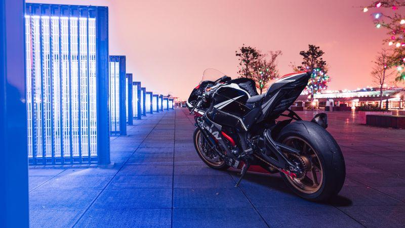 Kawasaki Ninja ZX-10R, Sports bikes, Neon, Wallpaper