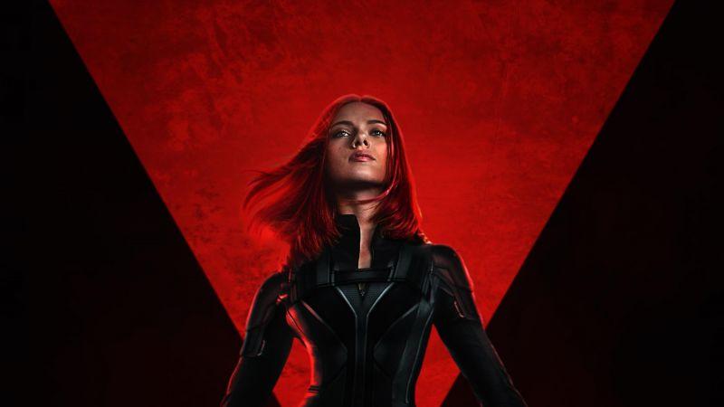 Black Widow, Scarlett Johansson, Marvel Comics, 2020 Movies, Wallpaper