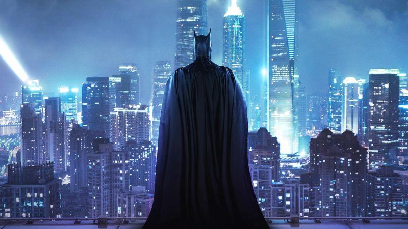 Batman, Gotham, DC Superheroes, DC Comics, Wallpaper