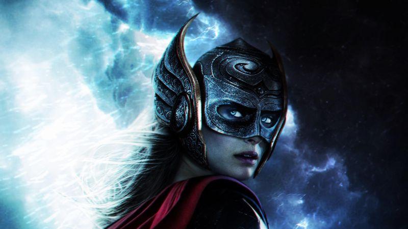 Jane Foster, Thor: Love and Thunder, Female Thor, Wallpaper