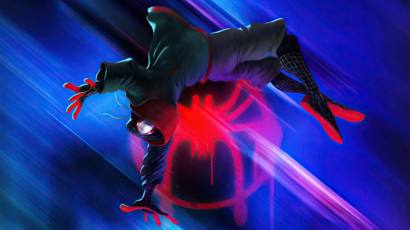 Miles Morales, Spider-Man: Into the Spider-Verse, Wallpaper