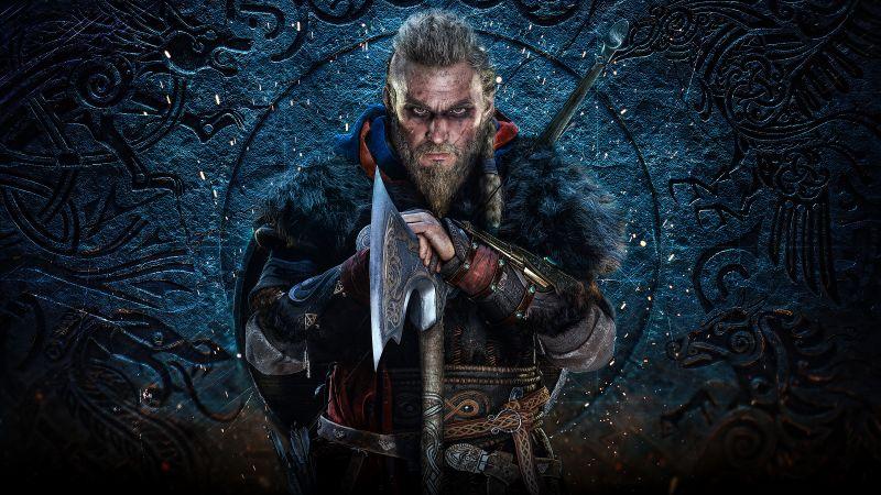 Eivor, Assassin's Creed Valhalla, Viking raider, PC Games, PlayStation 4, PlayStation 5, Xbox One, Xbox Series X, 2020 Games, 5K, Wallpaper