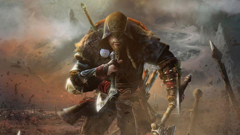Eivor, Assassin's Creed Valhalla, Viking raider, PC Games, PlayStation 4, PlayStation 5, Xbox One, Xbox Series X, 2020 Games, Wallpaper