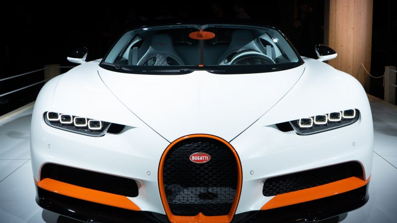 Bugatti Chiron Sport, Hypercars, 5K, Wallpaper