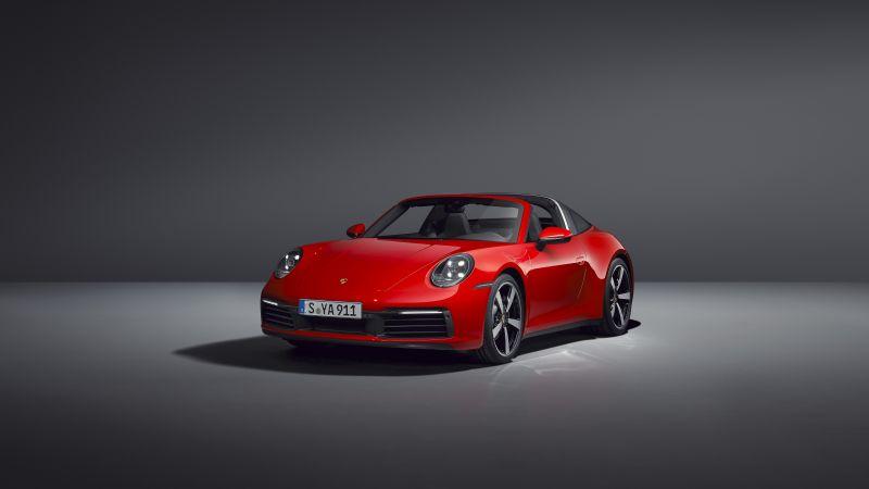 Porsche 911 Targa 4, 2020, 5K, Wallpaper