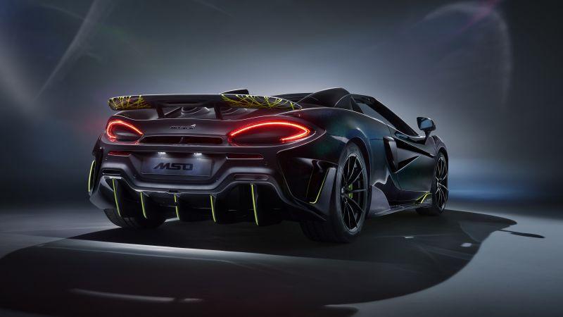 McLaren MSO 600LT Spider, MSO, 2020, 5K, Wallpaper