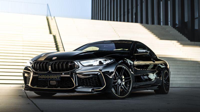 BMW M8, Manhart MH8 800, Manhart Performance, 2020, 5K, Wallpaper