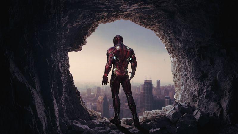 Iron Man, Cave, Time travel, Marvel Superheroes, Wallpaper