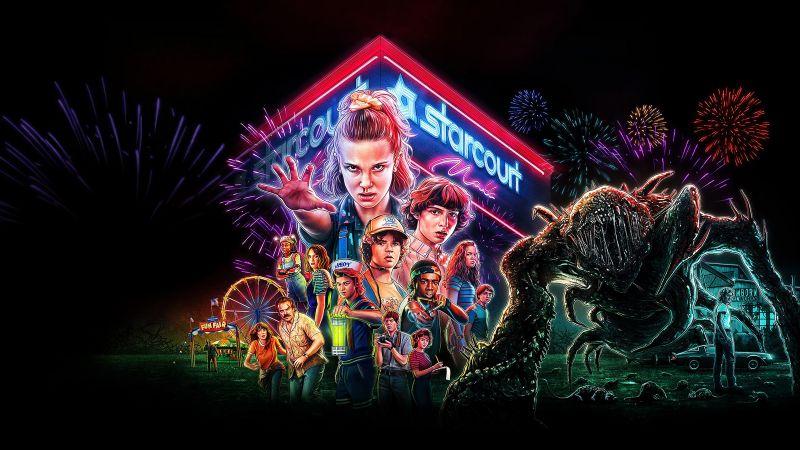 Stranger Things, Netflix series, Wallpaper