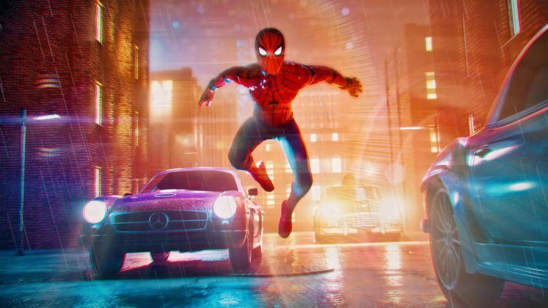 Spider-Man, Artwork, Marvel Superheroes, Wallpaper