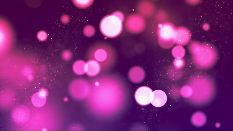 Bokeh, Purple, Pink, Sparkles, Wallpaper