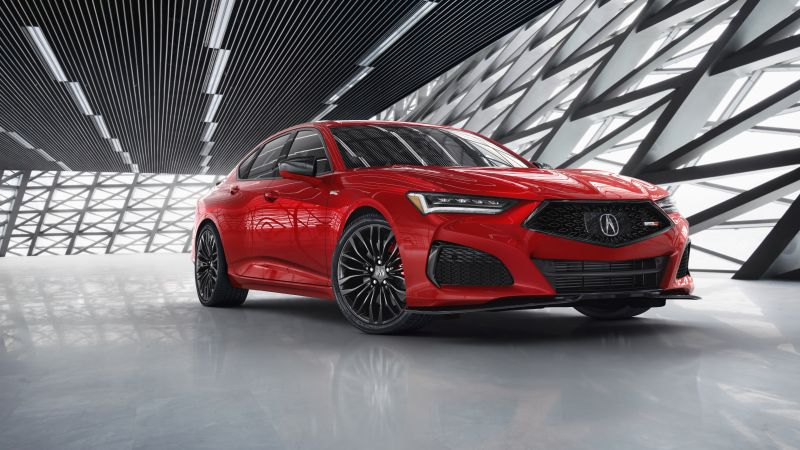 Acura TLX Type S, 2021, 5K, 8K, Wallpaper