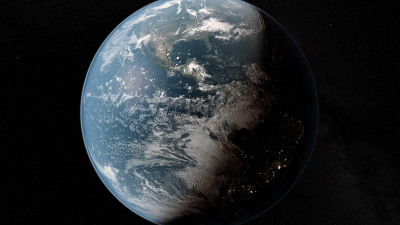 Earth, Planet, Astronomy, Night, Daylight, 5K, 8K, Wallpaper
