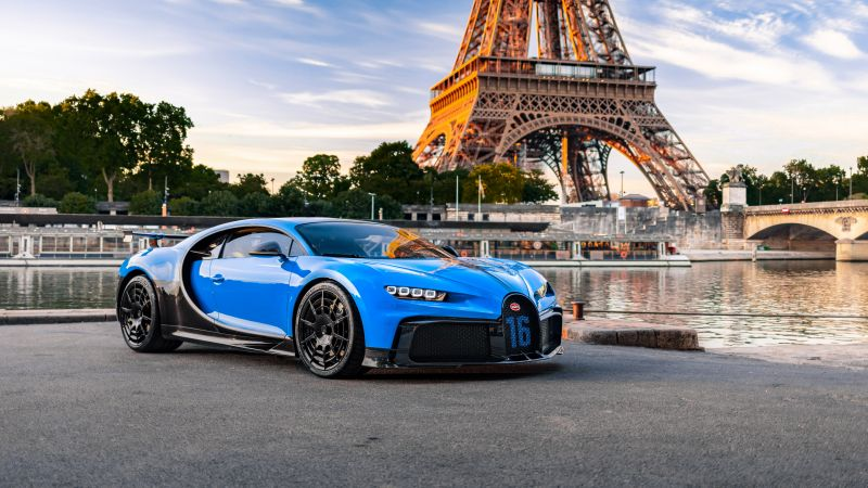 Bugatti Chiron Pur Sport, 2020, Paris, 5K, 8K, Wallpaper