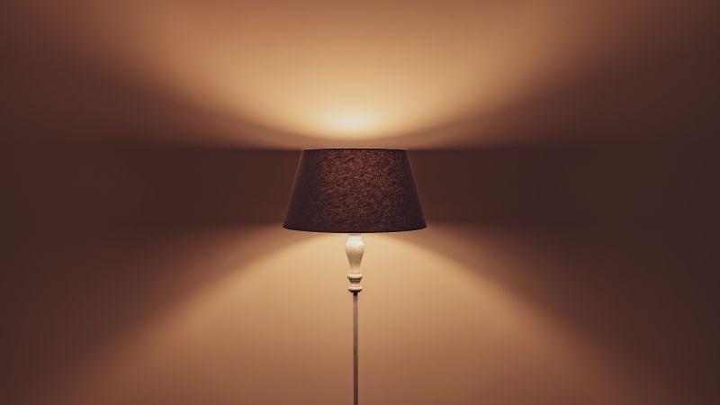Lamp, Interior, Light, Ambient lighting, 5K, Wallpaper