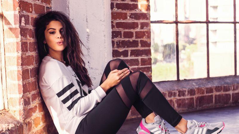 Selena Gomez, American singer, 5K, Wallpaper