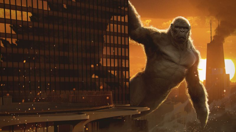Godzilla vs Kong, King Kong, 2020 Movies, Wallpaper