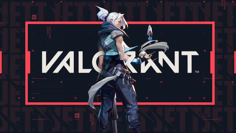 Jett, Valorant, PC Games, 2020 Games, Wallpaper